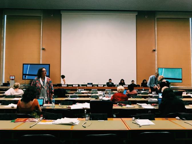 CrCF Goes Geneva: CEDAW 67th